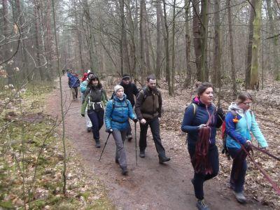 Z Rembertowa do Falenicy, wyprawa piesza 8, 18 lub 28 km