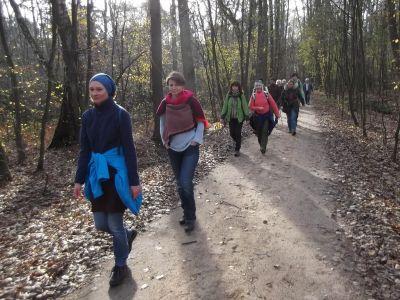 Przedświąteczny spacer z Łazikiem
