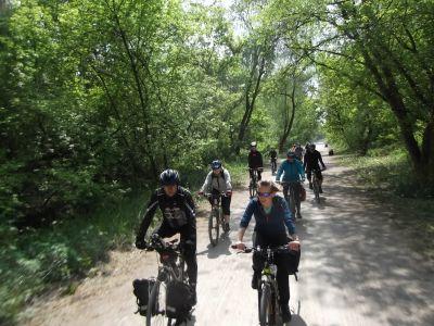 Przejażdżka do Podkowy, nowa trasa przez Las Młochowski