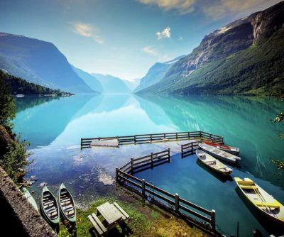 Przez norweskie fiordy na rowerze, przygodowa robinsonada!