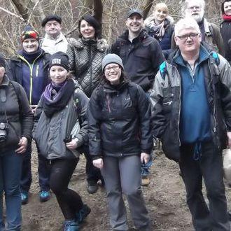15.03.2015 - Wycieczka piesza TTX:  z Falenicy przez Mazowiecki Park Krajobrazowy - 23 km