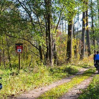 Integracyjna wycieczka po Mazowszu, kończąca sezon rowerowy 2019